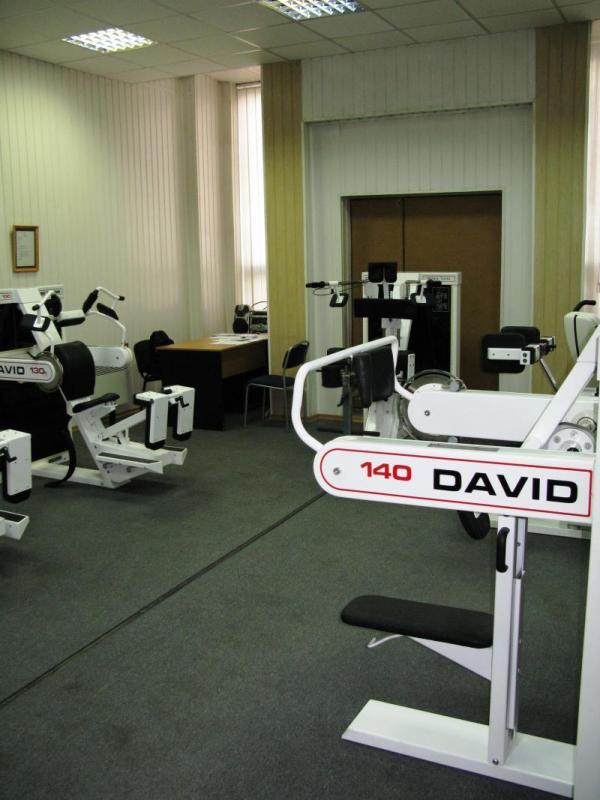 Спорткомплекс (зал тренажеров DAVID)